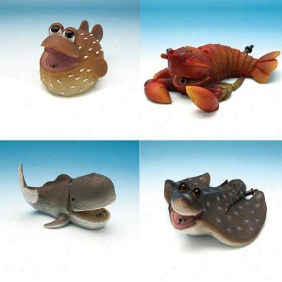 Aerating Sea Creatures Aquarium Decorationw