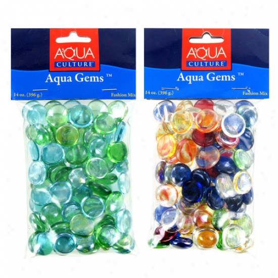 Akasha Aqua Gems Fashion Mix, 14 Oz