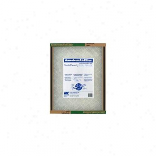 American Air Filter 12inch X 25inch X 1inch Stratadensity Fiberglass Air Filter  220-321 - Pack Of_12