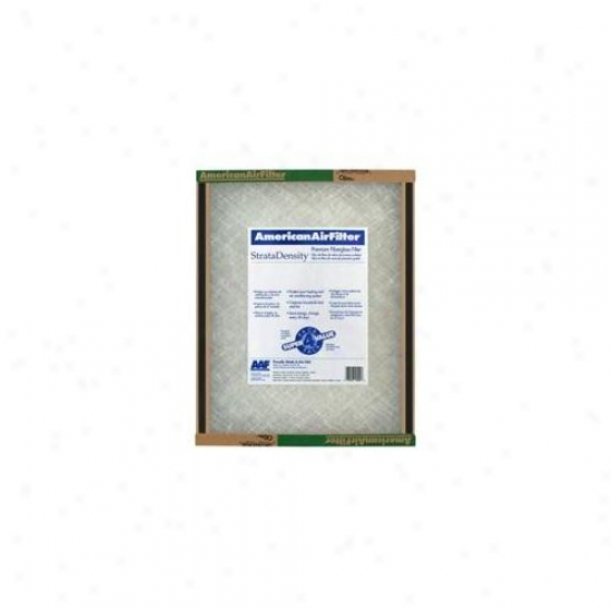 American Air Filter 25inch X 25inch X 1inch Stratadensity Fiberglsas Air Filter  220-870 - Pack Of 12