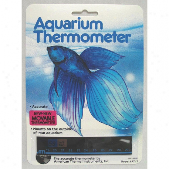 American Thermal Horizontal Aquarium Thermomeeter