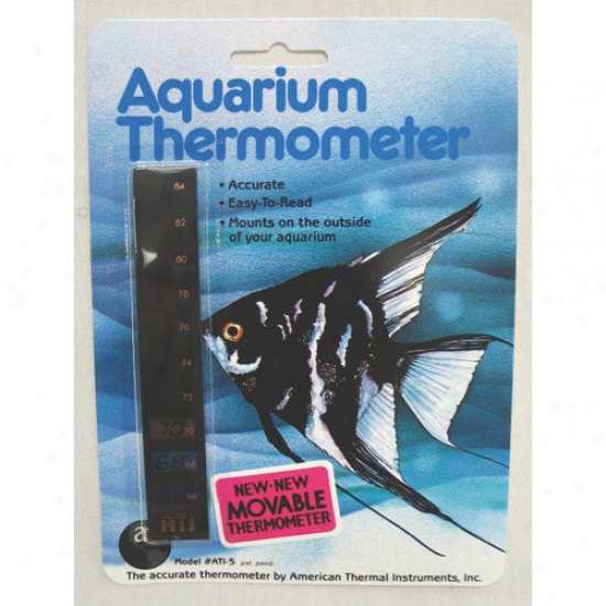 American Thermal Vertical Aquarium Thermometer