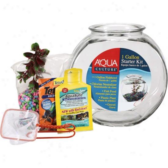 Anchor Hocking Company Premium Fishbowl Starter Kit, 1ct