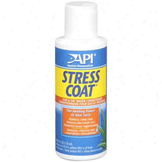 Api Aquarium Pharmaceuticals: Stress Coat Angle & Tap Water Conditioner, 4 Fl Oz