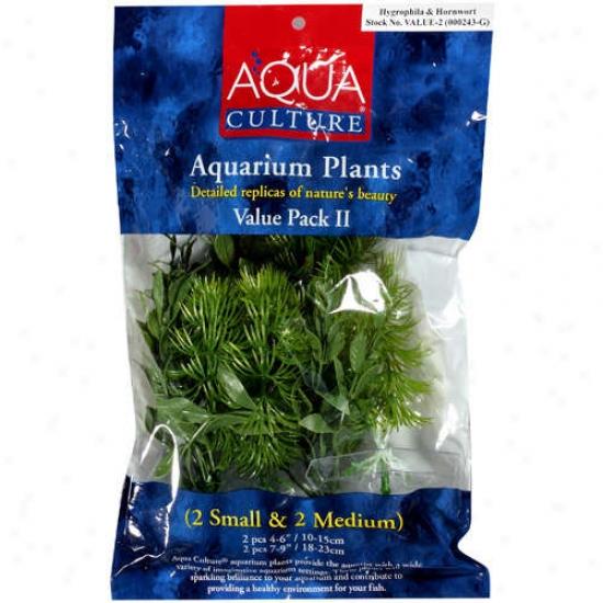 Aqua Culture Aquarium 2 Plant Estimation Pack, 4pk