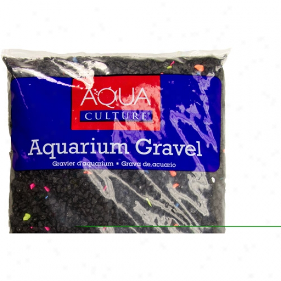 Aqua Culture Aquarium Gravel, Neon Starry Night, 5 Lb