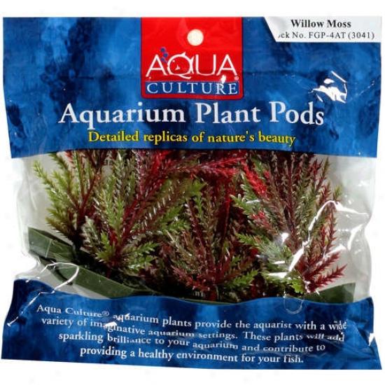 Aqua Culture Aquarium Plant Pods, 6pk