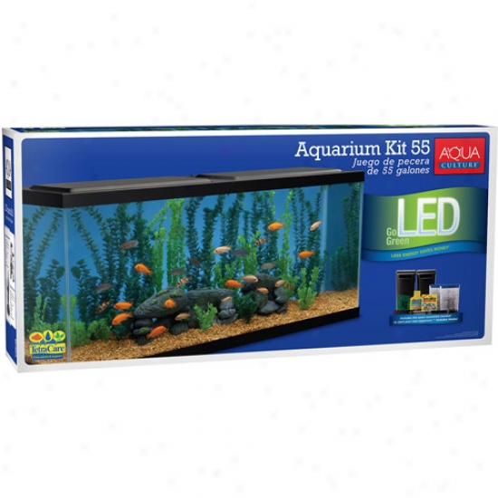 Aqua Agri~ Aquarium Starter Kit, 55 Gallon