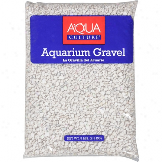 Aqua Improvement White Chips Aquarium Gravel, 5 Lb