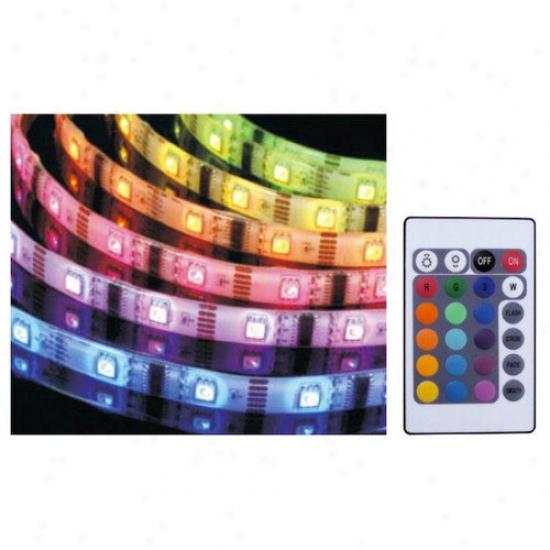 Aqua Euro Usa Multi Color Led Strip With Transforme5