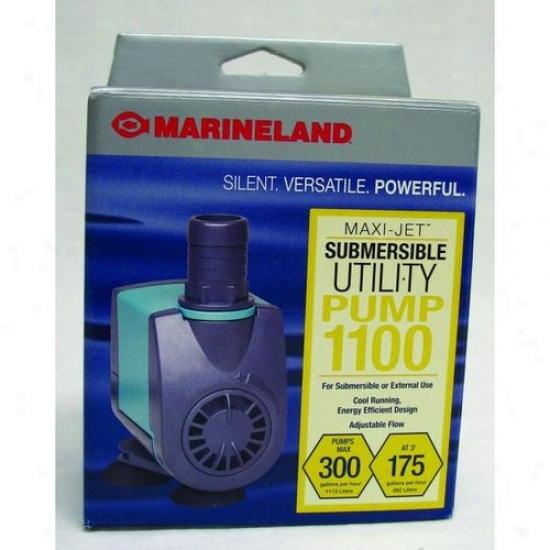 Aquuarium Systems Nj1100 Maxijet Utility Pump Nj1100
