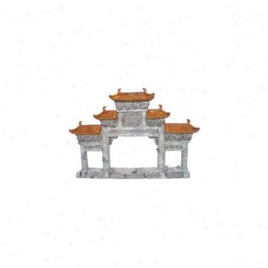 Aquatic Creations - Sporn - Aznzqu02137 Resin Ornament - Sunken Temple 1