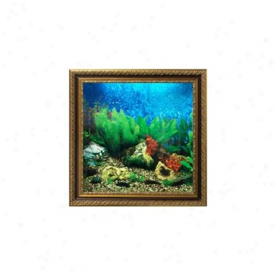Aquavista Av500tabali Wall-mounted Aquarium Av 500 Tropical Water Background With Libra Frzme