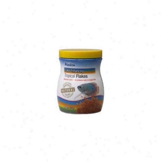 Aqueon Aqe100009437 Tropical Color Flakes