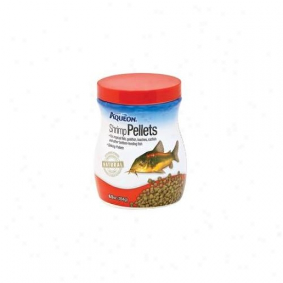 Aqueon Supplies - Aqueon Shrimp Pellets 6. 5 Ounce - 06189