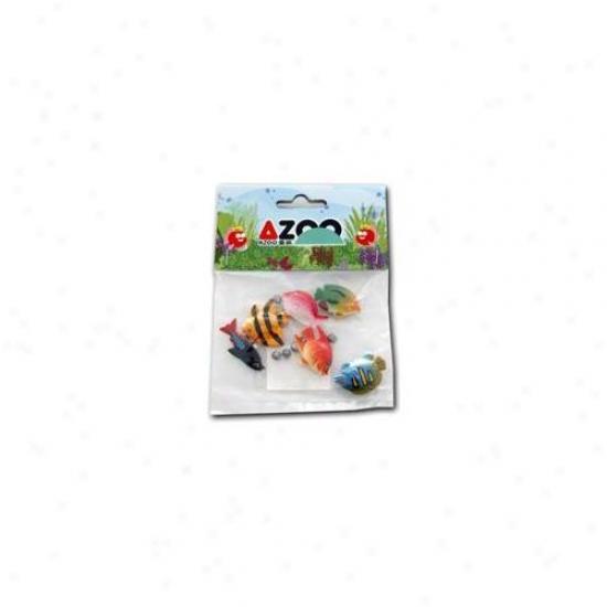 Azoo Az27035 Cute Accessories Little Tropical Fish