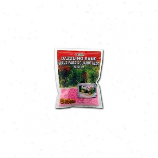 Azoo Az99221 Azoo Fluorescent Color Gravel For Aquarium - Pink