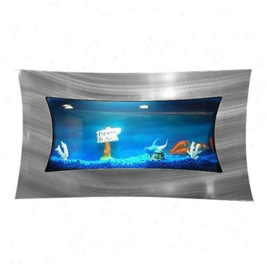 Bayshore Concave Aquarium With Starter Kit