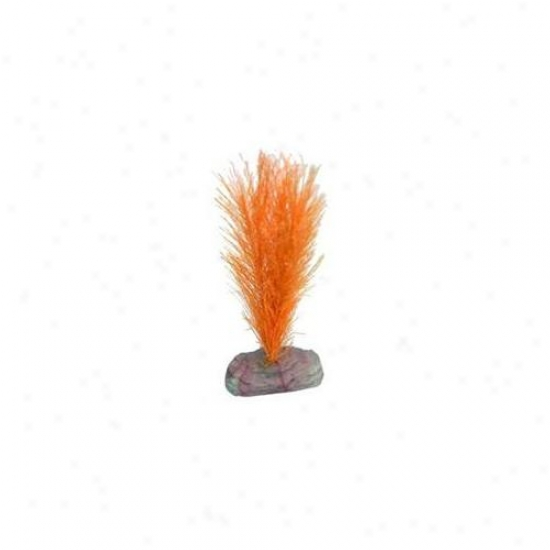 Blue Ribbon Pet Products Aglcb113or Plant - Soft Foxtail Mini Orange