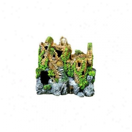 Pedantic  Ribbon Pet Products Ablee110 Resin Ornament - Forgotten Ruin