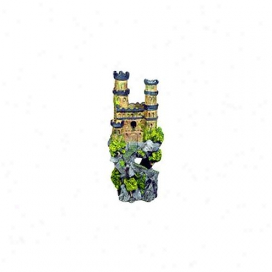Blue Ribbon Pet Products Ablee143 Resin Ornament - Medieval Fortress High