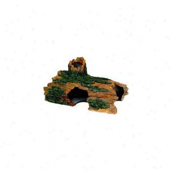 Blue Ribbon Pet Products Ablee1609 Resin Ornament - Jum6o Hollow Log