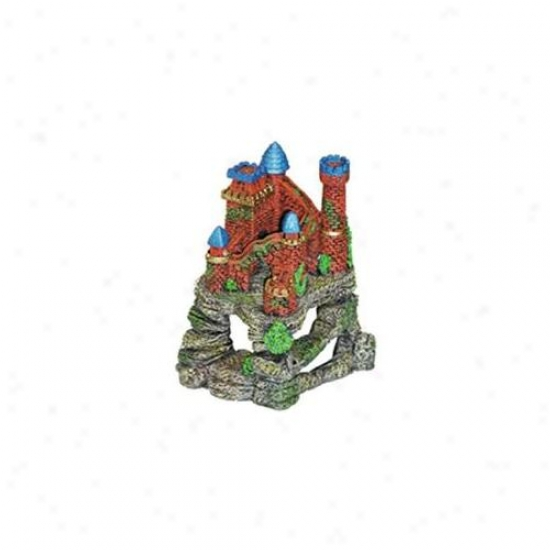 Blue Ribbon Angry mood Products Ablee455 Resin Ornament - Castlr Fortress Cavern