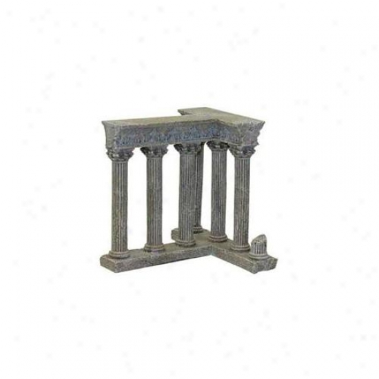 Blue Ribbon Pet Products Ablee481 Resin Ornament - Column Ruins