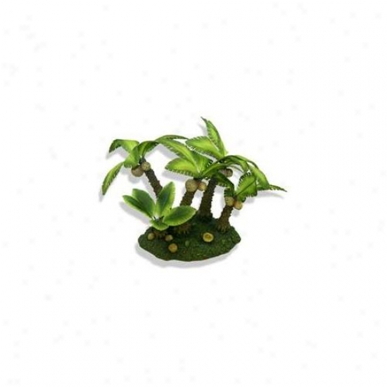 Blue Ribbon Pet Products Ablee491 Resin Ornament - Medium Palm Tree Island