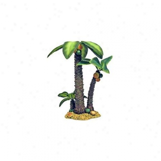 Blue Ribbon Pet Products Ablee492 Resin Ornament - Large Palm Tree Island