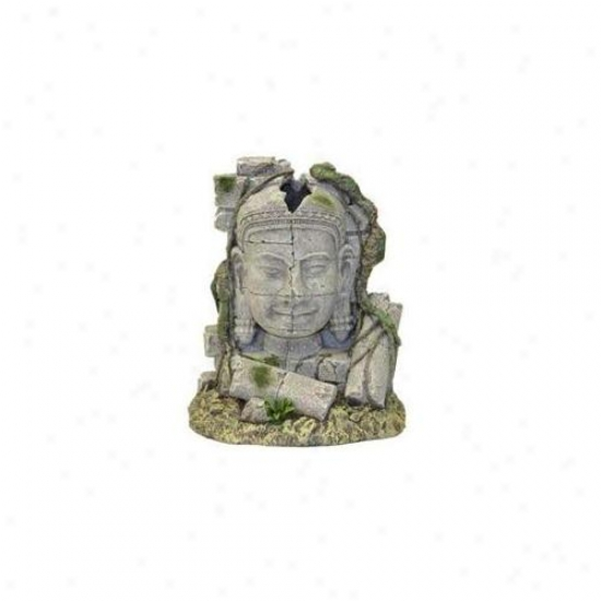Blue Ribbon Pet Products Ablee542 Resin Ornament - Ancient Stonehead Ruin