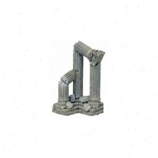 Blue Ribbon Pst Products Ablee913 Resin Otnamebt - Three File Ruins Corner Section