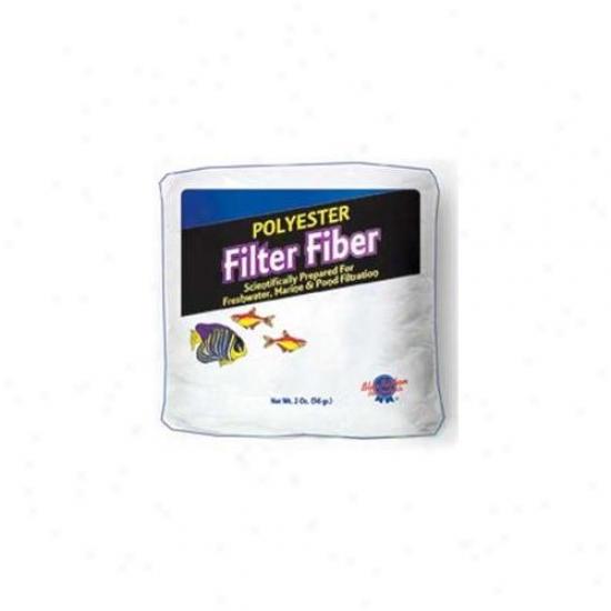 Blue Ribbon Pet Productd Abplly2 Polyester Filter Fiber Bag- 2 Oz.