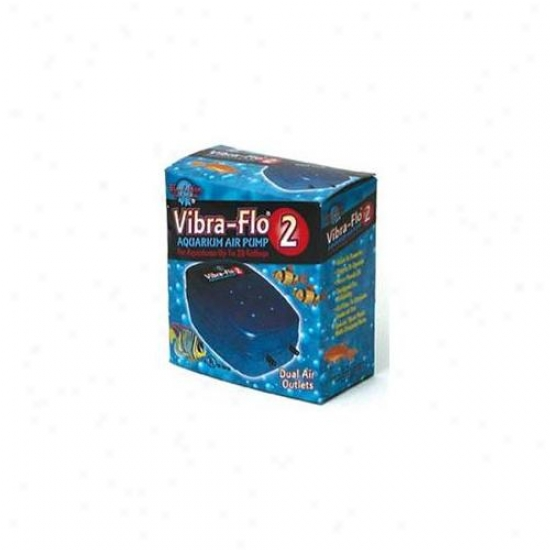 Blue Ribbon Pet Products Ablvf2 Vibra Flow Air Pump 2 Double Outlet