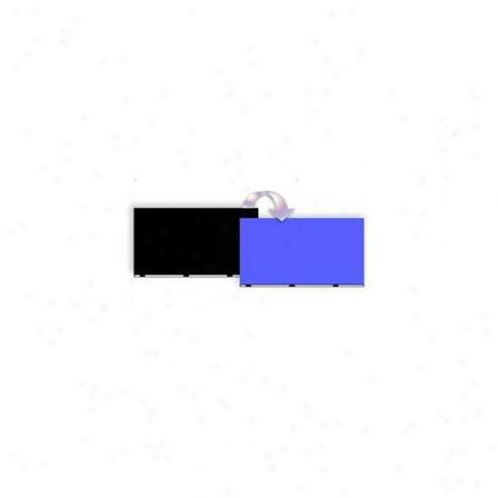 Blue Ribbon Pet Products Ablvwb1624 24 Indh X 50 Ft.  Double-sided Background Black-blue