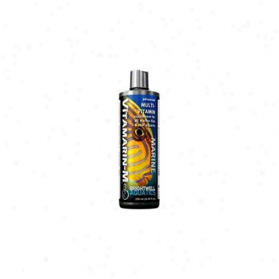 Brightwell Aquaticz Abavtm250 Vitamarin-m Multiviamin Supplemsnt 8oz 250ml