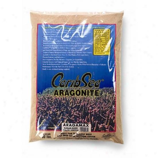 Caribsea 009330 Aragamax Sugar Sized Sand Dry Aragonite