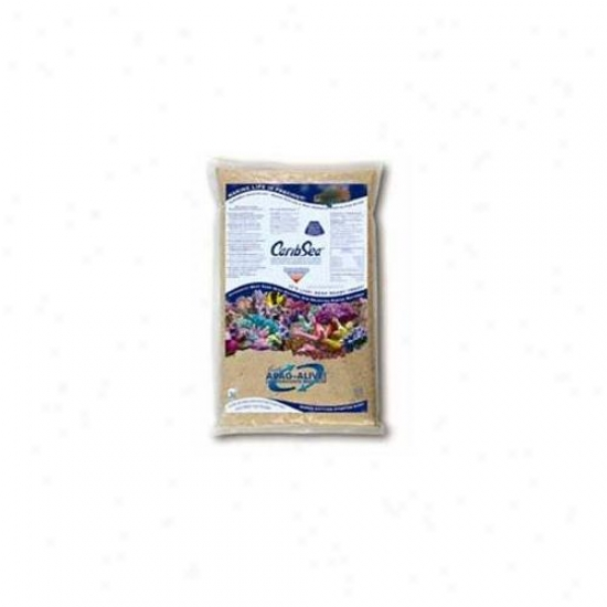 Caribsea Arag-alive Substrate B.  Oolite 20 Pounds - 00793 Pack Of 2