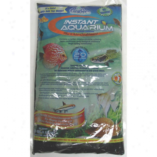 Caribsea Instant Aquarium Tahitian Moon Sand In Black (40 Lbs) (set Of 2)