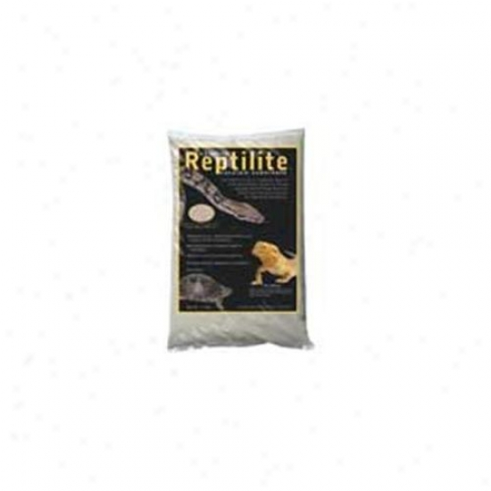 Caribsea Reptilite Natural Whit e10 Pounds - 00710 Pack Of 4