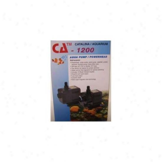 Catalina Aquarium- Inc 750-52475 Catalina Aquarium Ca 1200 Aquarium Pump 211 Gph