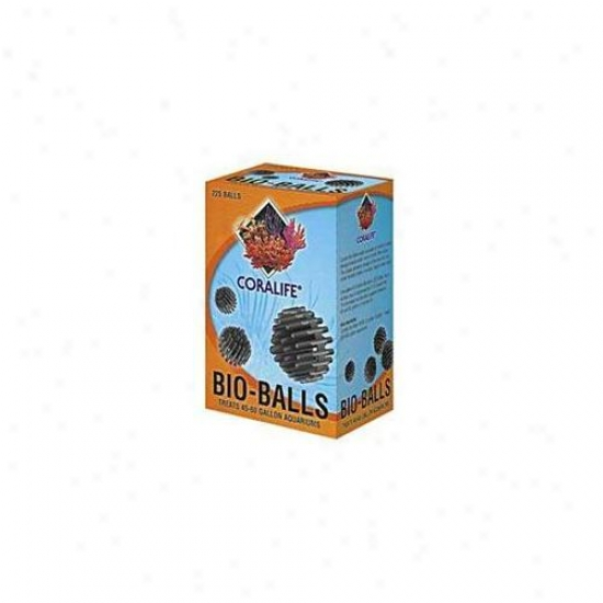 Coralife - Energy Savers - Aclaf791 Mini 1 Inch Bio-balls 1 Gallon 75 Balls - Color Box