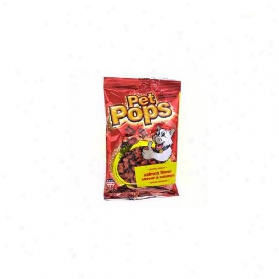 Ddi Popn Bites Salmon Flavor Cat Treat Displaay- Suit Of 24