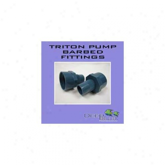 Deep Blue Professionao Adb40022 Triton Pump Barbed Fitting