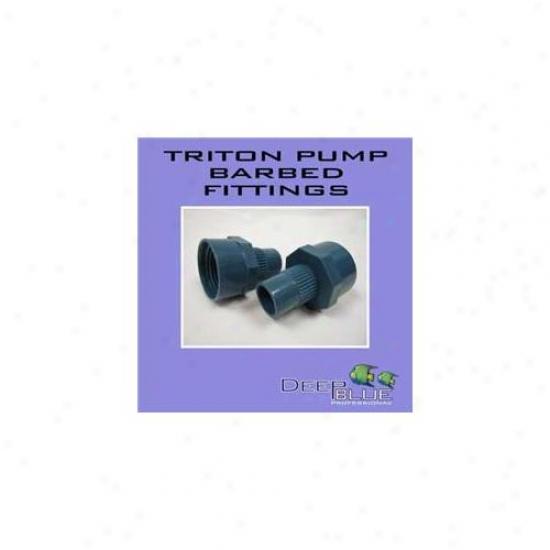 Deep Blue Professional Adb40023 Triton Pump Barbed Fitting