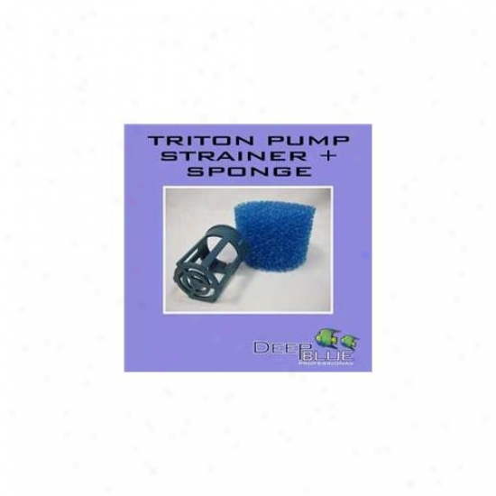 Deep Blue Professional Adb40025 Triton Pump Strainer And Sponge Kid