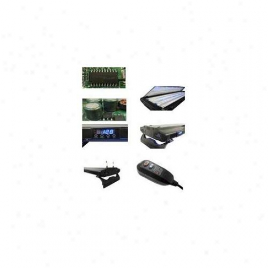 Deep Blue Professional Adb42424 24 Inch Db Solarxtreme T5 Ho Quad Lamp System