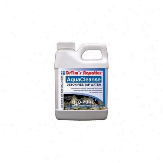 Drtim's Aquatics 015 64 Oz H2o-pure Aquacleanse Tapwater Detoxifier