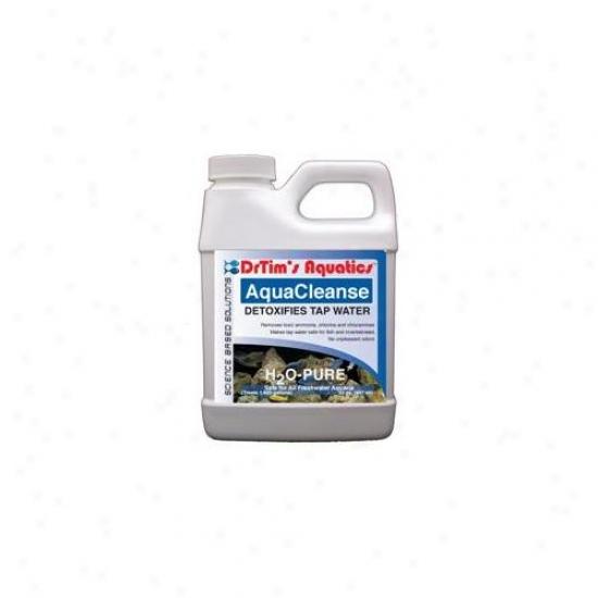Drtim's Aquatics 016 128 Oz H2o-pure Aquacleanse Tapwater Detoxifier