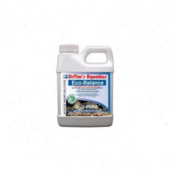 Drtim's Aquatics 065 64 Oz H2o-pure Eco-balance Probiotic Bacteria